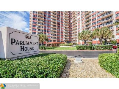 Pompano Beach Condo/Townhouse For Sale: 405 N Ocean Blvd #1804