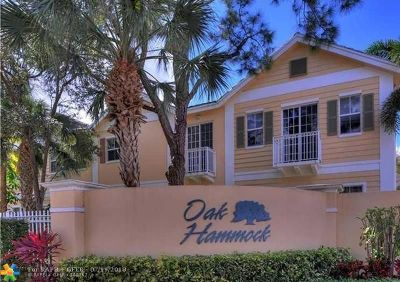 Fort Lauderdale Condo/Townhouse For Sale: 505 SW 18th Ave #8