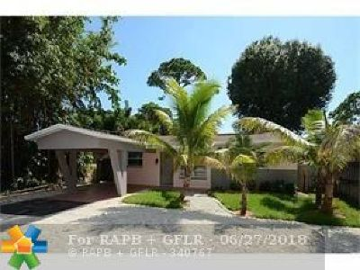 Wilton Manors Single Family Home For Sale: 2428 NE 6th Ave