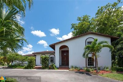 Davie Single Family Home For Sale: 11750 SW 24th St