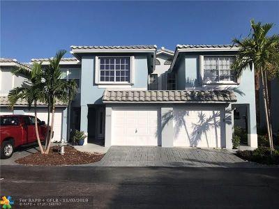 Boca Raton Condo/Townhouse For Sale: 1034 Jeffery St #3