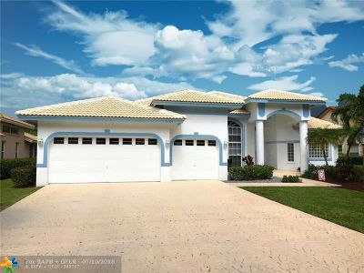 Coral Springs Single Family Home For Sale: 5765 NW 101st Way