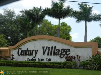 Pembroke Pines Condo/Townhouse For Sale: 1401 SW 135th Ter #402H