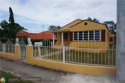 Miami Single Family Home For Sale: 1094 NW 41st St