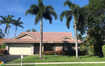 Margate Single Family Home For Sale: 7702 NW 19th Ct