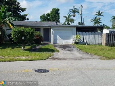 Wilton Manors Single Family Home For Sale: 500 NW 30th St