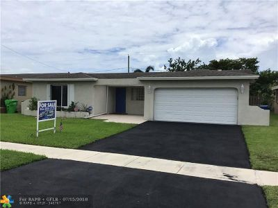 Sunrise Single Family Home For Sale: 11450 NW 41st St
