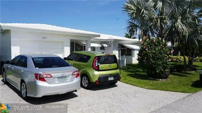 Pompano Beach Single Family Home For Sale: 3030 NW 1st Dr