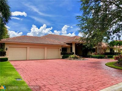 Coral Springs Single Family Home For Sale: 8307 NW 51st Mnr