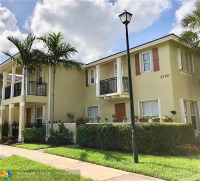 Coconut Creek Condo/Townhouse For Sale: 4720 Mimosa Pl #906