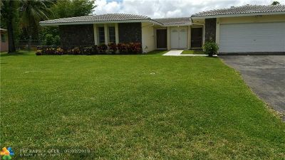 Coral Springs Rental For Rent: 10760 NW 43rd Ct