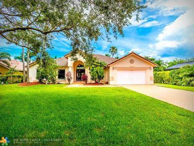 Weston Single Family Home Backup Contract-Call LA: 1012 Pine Branch Ct