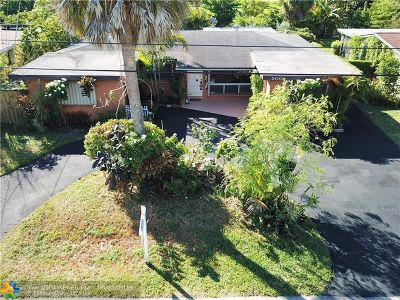 Wilton Manors Single Family Home For Sale: 500 NW 30th Ct