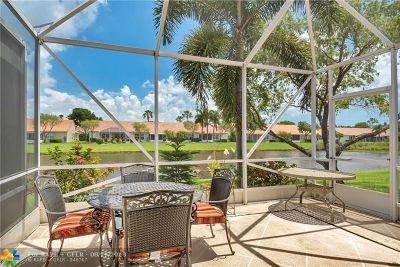 Delray Beach Condo/Townhouse For Sale: 6087 Caladium Rd #6087
