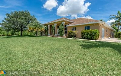 Loxahatchee Single Family Home For Sale: 20367 Simone Drive