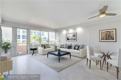 Fort Lauderdale Condo/Townhouse For Sale: 3233 NE 34th St #420
