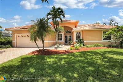Coral Springs Single Family Home For Sale: 4166 NW 64th Ave