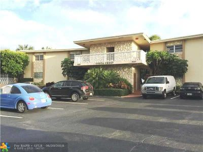 Fort Lauderdale Condo/Townhouse For Sale: 2110 NE 39th St #10A