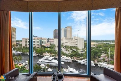 Fort Lauderdale Condo/Townhouse For Sale: 333 Las Olas Way #1004