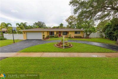 Plantation Single Family Home Backup Contract-Call LA: 6281 SW 5th Ct