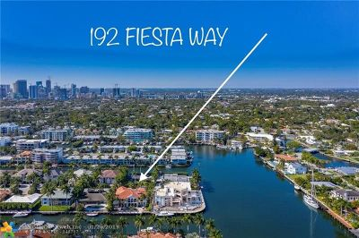 Fort Lauderdale Single Family Home For Sale: 192 Fiesta Way