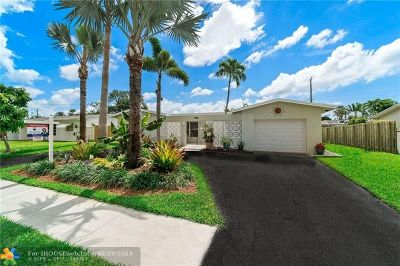 Oakland Park Single Family Home For Sale: 3908 NW 19th Ave