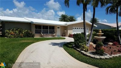 Pompano Beach Single Family Home Backup Contract-Call LA: 1051 NE 28th Ter