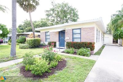 Fort Lauderdale Single Family Home For Sale: 917 SW 20th St