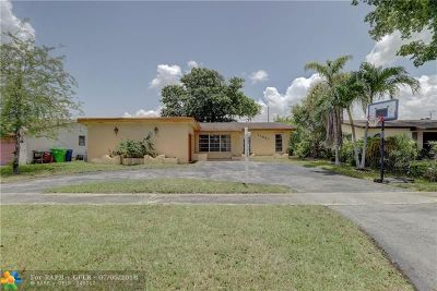 Sunrise Single Family Home For Sale: 11951 NW 29th Pl