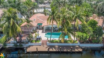 Single Family Home For Sale: 405 Coral Way