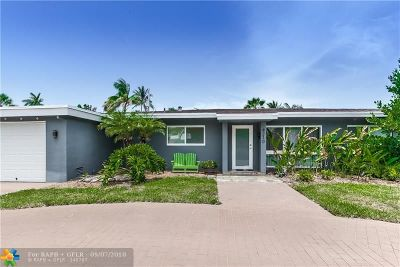 Oakland Park Single Family Home For Sale: 4210 NE 16th Ave