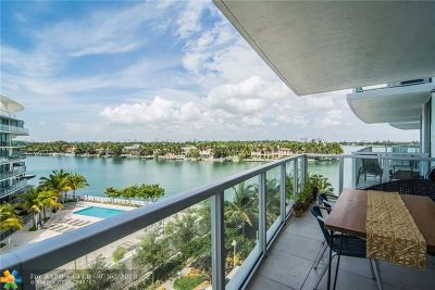Miami Beach Condo/Townhouse For Sale: 6700 Indian Creek Drive #603