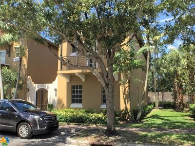 Pembroke Pines Condo/Townhouse For Sale: 526 SW 147 Ter #1-40