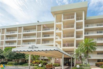 Pompano Beach Condo/Townhouse For Sale: 3100 N Course Ln #102