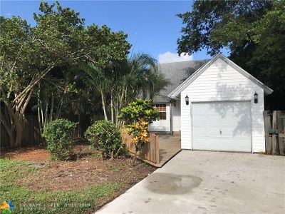 Delray Beach Single Family Home For Sale: 15203 Hayes Rd