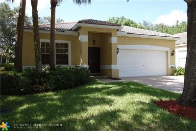 Coconut Creek Single Family Home For Sale: 4883 NW 59th Ct