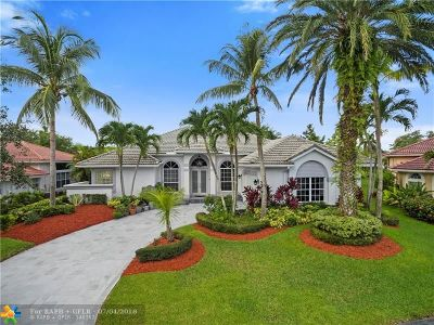 Coral Springs Single Family Home For Sale: 4964 NW 108th Ter
