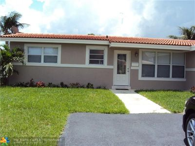 Pompano Beach Single Family Home For Sale: 949 SE 10th Ct