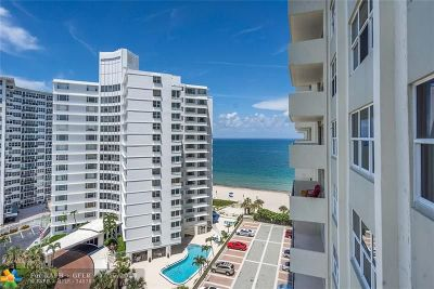 Fort Lauderdale Condo/Townhouse For Sale: 3550 Galt Ocean Dr #1007