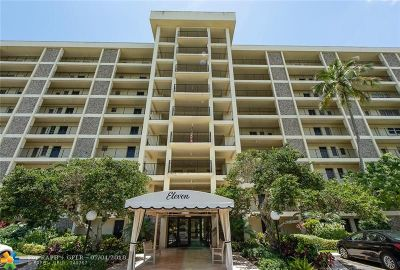 Pompano Beach Condo/Townhouse For Sale: 3200 N Palm Aire Dr #605