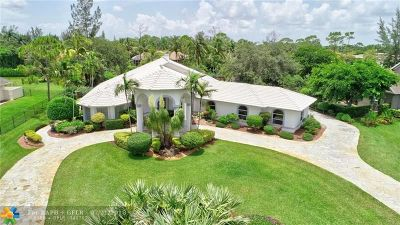 Parkland Single Family Home For Sale: 6813 NW 63rd Way