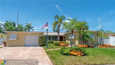 Fort Lauderdale Single Family Home For Sale: 1317 Orange Isle