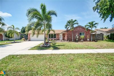 Coconut Creek Single Family Home For Sale: 4401 NW 2nd Ct