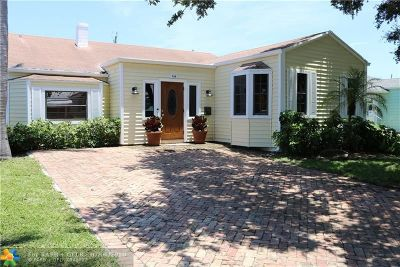 Lake Worth Single Family Home For Sale: 528 N Palmway
