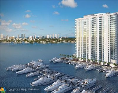 North Miami Beach Condo/Townhouse For Sale: 17111 Biscayne Blvd #2009