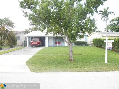 Oakland Park Single Family Home Backup Contract-Call LA: 221 NW 46th St