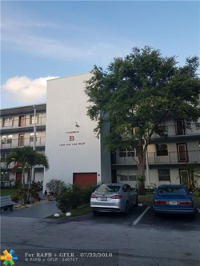 Pembroke Pines Condo/Townhouse Backup Contract-Call LA: 1301 SW 134th Way #408B