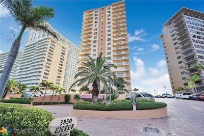 Fort Lauderdale Condo/Townhouse For Sale: 3850 Galt Ocean Dr #504