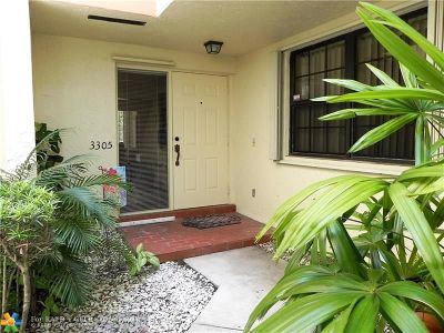 Hollywood Condo/Townhouse For Sale: 3305 Water Oak Dr #1307