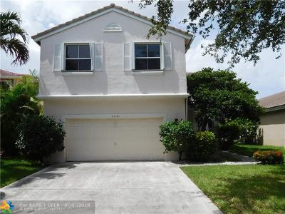 Coconut Creek Single Family Home For Sale: 5461 NW 49th Ct